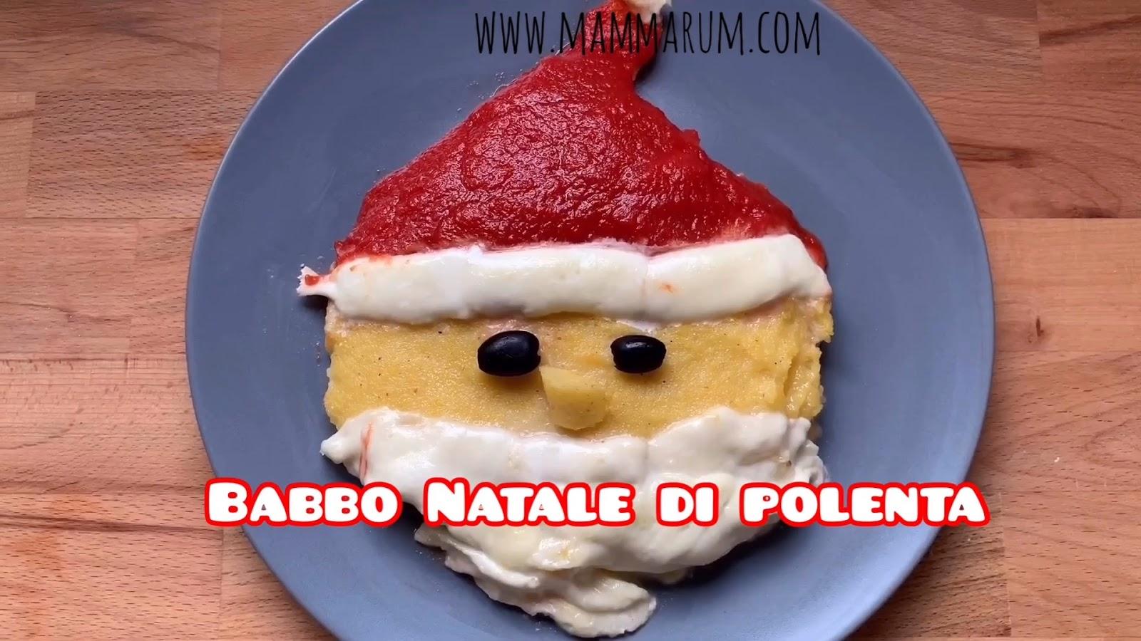 Avvento giorno 6: Babbo Natale di polenta