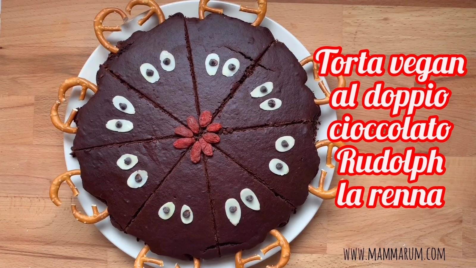 Avvento giorno 7: Torta Rudolph al doppio cioccolato