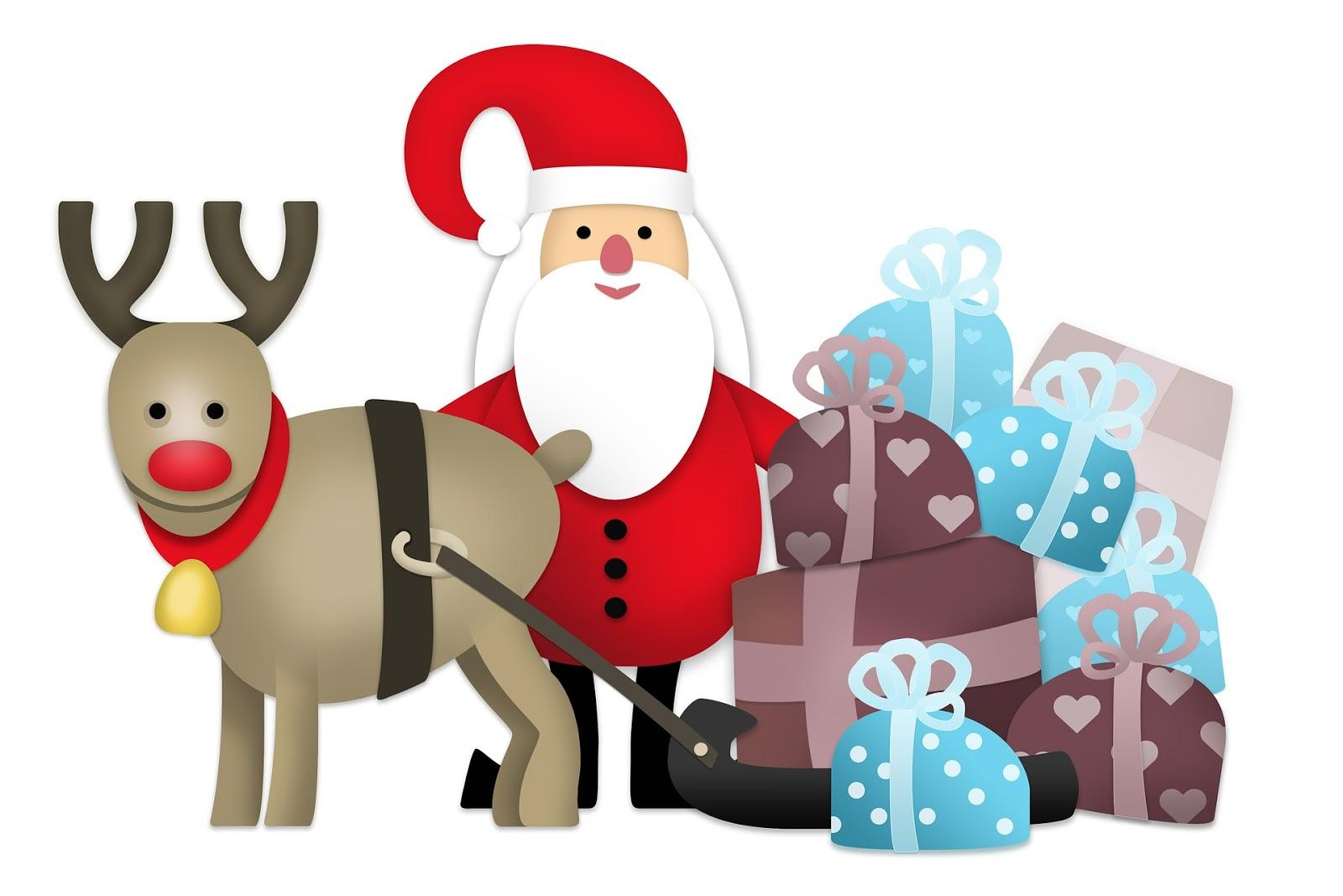 La storia di Rudolph la Renna per bambini (da stampare e colorare)