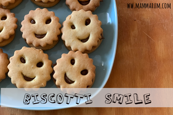 Biscotti smile senza burro