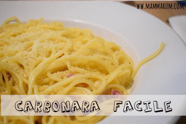 Spaghetti alla carbonara facile per il carbonara day!
