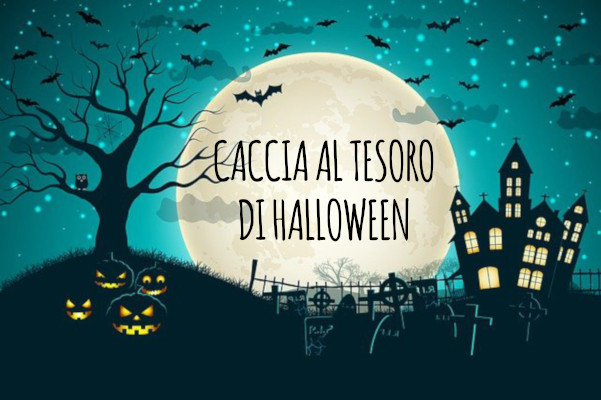 Caccia al tesoro di Halloween da stampare gratis