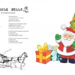 Jingle Bells testo e traduzione da stampare  per bambini