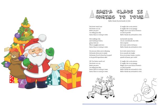 Santa Claus Is Coming to Town testo e traduzione da stampare