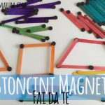 Bastoncini magnetici fai da te