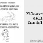 Filastrocca Candelora da colorare